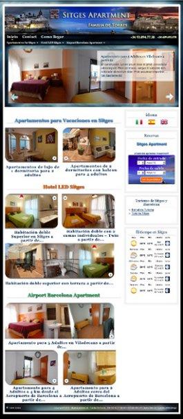 Sitgesapartment Website